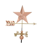 $425.00 - Star With Arrow Weathervane