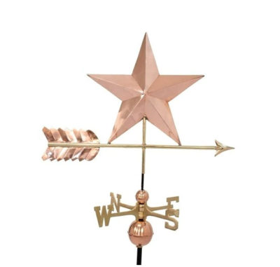 $425.00 - Star With Arrow Weathervane
