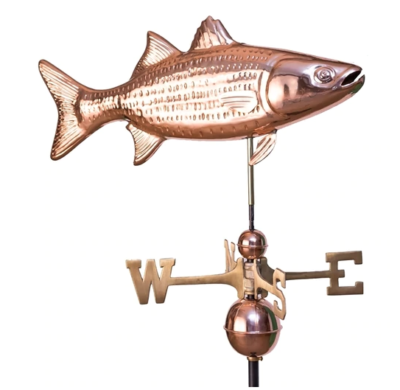 $600.00 - Striped Bass Weathervane