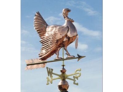 $675.00 - Strutting Turkey With Arrow Weathervane