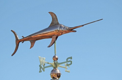 $525.00 - Swordfish Weathervane