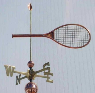 $525.00 - Tennis Racket Weathervane