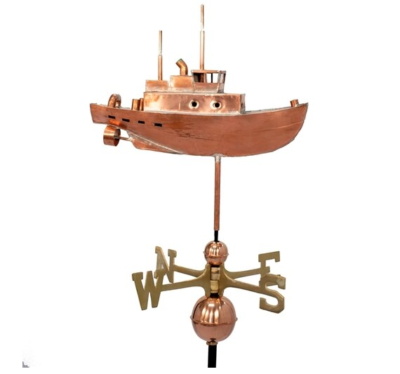 $800.00 - Tugboat Weathervane