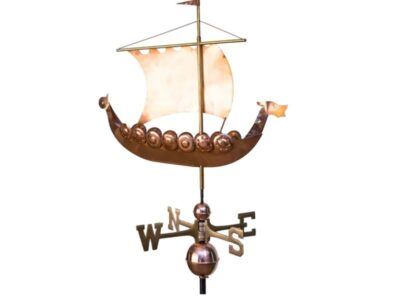 $600.00 - Viking Ship Weathervane