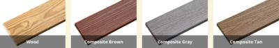 Gazebo Floor Board Choices