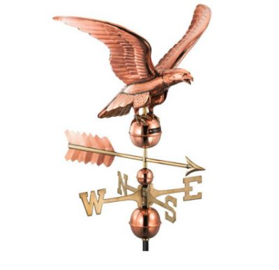 $475.00 - Smithsonian Eagle With Arrow Weathervane