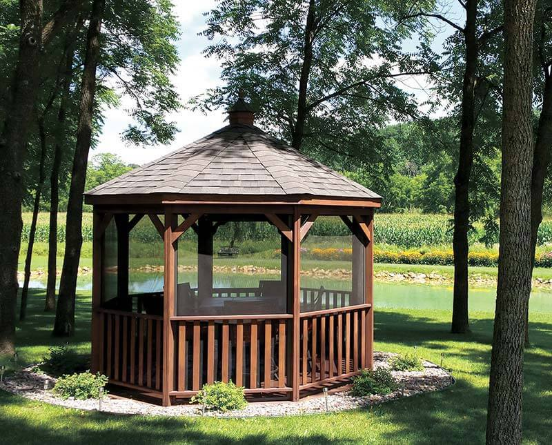 Gazebos For Sale - Nice Quality Buy From East Coast Shed in MA