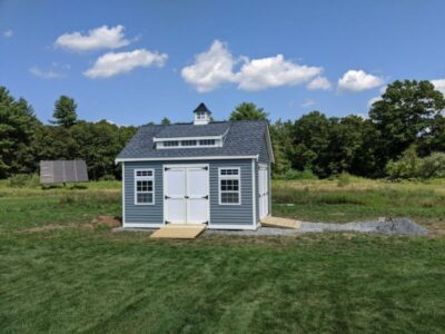#12 (12' x 16' Vinyl Custom Shed With 8' Shed Dormer)