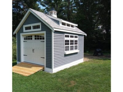 #63 (12' x 16' Vinyl Custom Shed With 8' Shed Dormer)