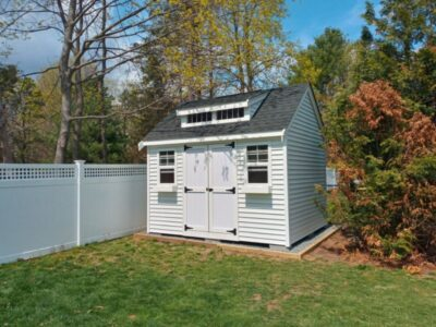 #44 (10' x 12' Vinyl Shed With 6' Shed Dormer)