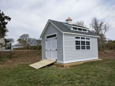 #58 (12' x 16' Vinyl Custom Shed With 8' Shed Dormer)