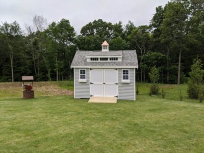 #13 (10' x 14' Vinyl Custom Shed With 8' Shed Dormer)