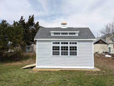#61 (12' x 16' Vinyl Custom Shed With 8' Shed Dormer)